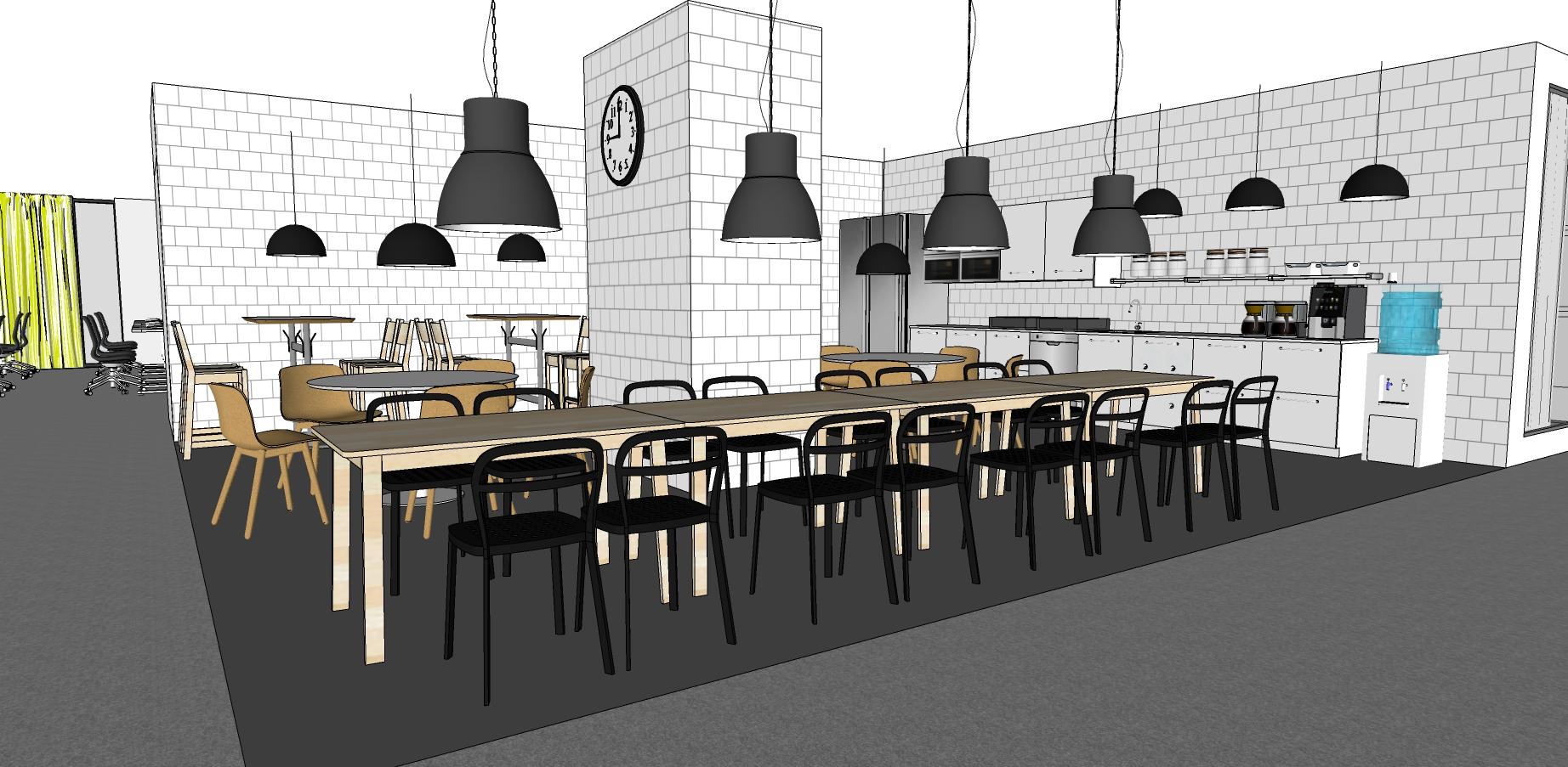 IKEA Vietnam Office Kitchen, Interior Design missfriisdesign