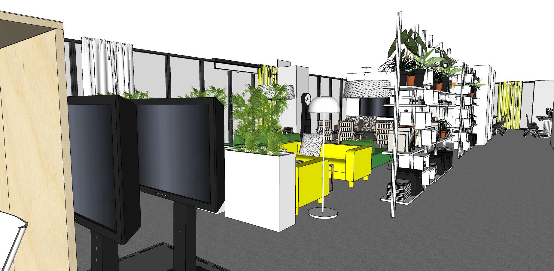 IKEA Vietnam Office Lounge, Interior Design