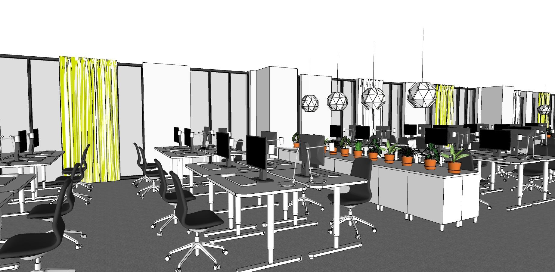 IKEA Vietnam Office desk space, Interior Design missfriisdesign