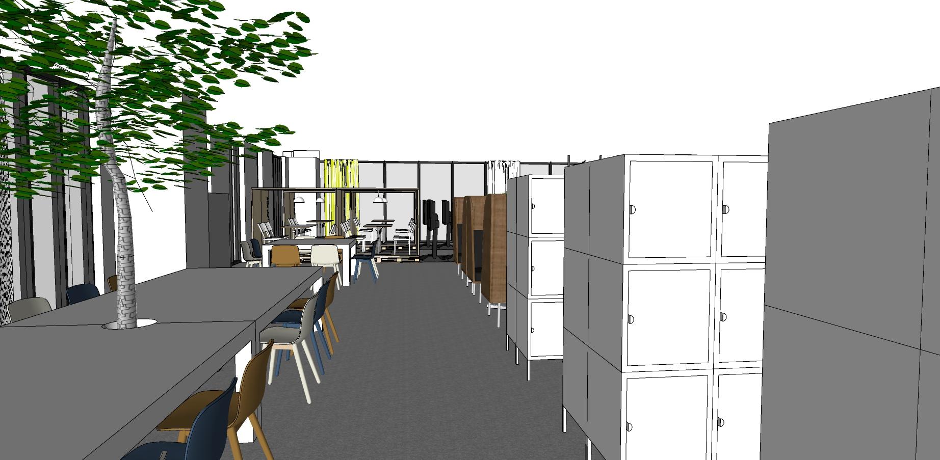 IKEA Vietnam Office long table Interior Design missfriisdesign